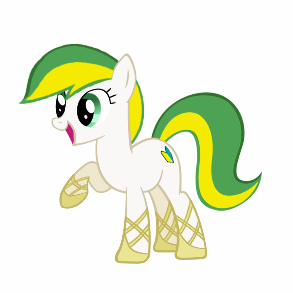 animal /bro/ fim green_eyes has_child_posts highres iipony mare mascot mlp mlp:fim multicolored_hair my_little_pony no_humans pony recolor simple_background transparent_background wakaba_colors wakaba_mark