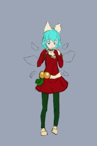 Rating: Safe Score: 0 Tags: 1girl alternate_costume animated blue_eyes blue_hair bow cirno dress grey_background main_page new_year pantyhose shoes short_hair simple_background sketch solo spinning wings User: (automatic)Anonymous