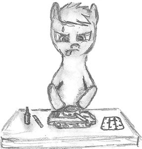 Rating: Safe Score: 0 Tags: animal /bro/ madskillz monochrome my_little_pony my_little_pony_friendship_is_magic no_humans pony simple_background sketch table tagme tank traditional_media User: (automatic)Anonymous