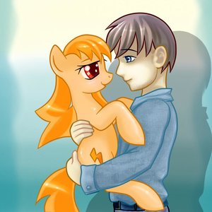 Rating: Safe Score: 0 Tags: 2ch animal crossover dvach-pony dvach-tan hug male mare mascot my_little_pony my_little_pony_friendship_is_magic orange_hair pony ponyfication red_eyes shipping style_parody twintails User: (automatic)Anonymous