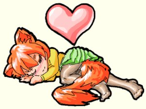 Rating: Safe Score: 0 Tags: 1girl animal_ears chibi closed_eyes fox_ears fox_tail lying microdesu_(artist) no_shoes pantyhose red_hair short_hair short_skirt simple_background skirt sleeping tail transparent_background User: (automatic)Willyfox