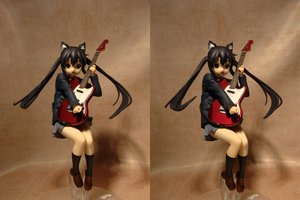 Rating: Safe Score: 0 Tags: animal_ears black_hair cat_ears figure guitar instrument k-on! nakano_azusa photo school_uniform stereogram twintails User: (automatic)nanodesu