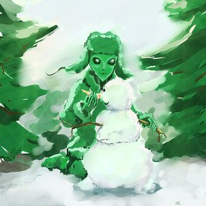 Rating: Safe Score: 0 Tags: alien green_skin hat outdoors petrovich snow snowman solo tree winter User: (automatic)Anonymous