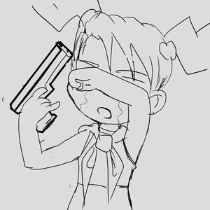 Rating: Safe Score: 0 Tags: 2-ch.ru crop_top dvach-tan hands_on_eyes monochrome necktie open_mouth pioneer_tie pistol simple_background sketch smolev_(artist) /tan/ tears twintails weapon User: (automatic)nanodesu