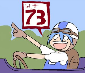 Rating: Safe Score: 0 Tags: blue_hair car champion_of_tzeentch_(artist) cirno driving finger gloves goggles grin helmet madskillz_thread_oppic User: (automatic)lol.me