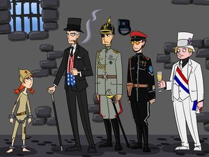 Rating: Safe Score: 0 Tags: cane character_request cigar cuffs france glass glasses hat historical male mangaka-kun_(artist) military_uniform personification prison red_hair soviet tagme top_hat twintails uniform usa ussr-tan User: (automatic)Anonymous