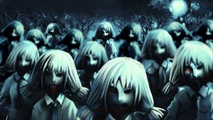 Rating: Questionable Score: 0 Tags: blood creepy crowd dark eroge forest game_cg gore highres multiple_girls multiple_persona night outdoors tree twintails ussr-tan User: (automatic)Anonymous