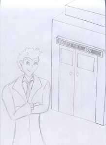 Rating: Safe Score: 0 Tags: /bro/ crossed_arms doctor_who male monochrome police_box sketch tardis the_doctor time_machine traditional_media User: (automatic)Anonymous