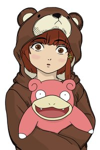 Rating: Safe Score: 0 Tags: /aa/ animal_costume brown_eyes brown_hair crossover hairpin iwakura_lain photoshop pokemon serial_experiments_lain short_hair slowpoke User: (automatic)nanodesu