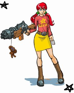 Rating: Safe Score: 0 Tags: belt blue_eyes blush boots card cheburashka co2_(artist) co_(artist) gun pentagram red_hair simple_background skirt /tan/ toy twintails ussr-tan weapon User: (automatic)nanodesu