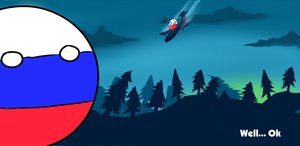 Rating: Safe Score: 0 Tags: 2032 airplane countryball parody polandball russiaball silhouette sky User: (automatic)herp