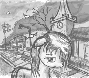 Rating: Safe Score: 0 Tags: animal /bro/ clock fim has_child_posts leaf mlp mlp:fim monochrome my_little_pony no_humans outdoors pony railroad_tracks sad tagme traditional_media train tree wind User: (automatic)Anonymous