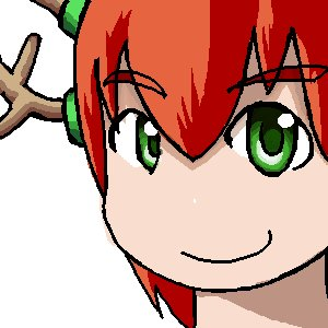 Rating: Safe Score: 0 Tags: antlers green_eyes horns /o/ oekaki olen-tan red_hair simple_background smile white_background User: (automatic)nanodesu