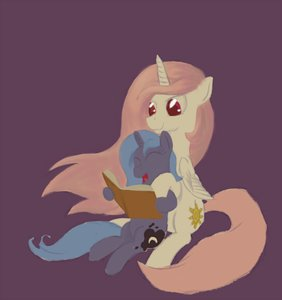 Rating: Safe Score: 0 Tags: alicorn animal /bro/ filly fim horns mare mlp mlp:fim my_little_pony no_humans pony princess_celestia princess_luna red_eyes shipping simple_background sitting wings User: (automatic)Anonymous