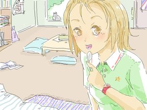 Rating: Safe Score: 0 Tags: blush brown_eyes brown_hair house k-on! /o/ oekaki open_mouth room short_hair sketch spoon tainaka_ritsu watch User: (automatic)nanodesu