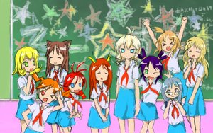 Rating: Safe Score: 0 Tags: >_< ahoge animal_ears aqua_eyes banhammer-tan blackboard blonde_hair blue_eyes brown_hair cat_ears chibi closed_eyes crossover drill_hair dvach-tan everyone excavator-chan glasses green_eyes hai-chan iie-chan long_hair lucky_star necktie /o/ orange_hair peach_hair pioneer pioneer_tie purple_hair red_eyes russia-oneesama school short_hair side_ponytail slavya-chan smile soviet star twintails unyl-chan ussr-tan uvao-chan white_eyes white_hair wink yellow_hair User: (automatic)ii
