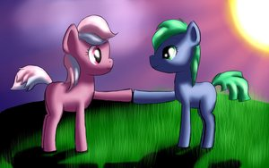 Rating: Safe Score: 0 Tags: animal /bro/ green_eyes green_hair monochrome multicolored_hair my_little_pony my_little_pony_friendship_is_magic no_humans pony shipping tagme User: (automatic)Anonymous