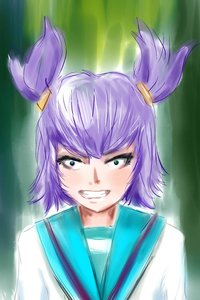 Rating: Safe Score: 0 Tags: angry green_eyes purple_hair sketch twintails unyl-chan User: (automatic)Anonymous