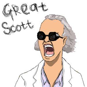 Rating: Safe Score: 0 Tags: back_to_the_future emmett_brown frustration glasses gogen_solncev grey_hair labcoat male /o/ oekaki open_mouth parody short_hair simple_background sketch sunglasses User: (automatic)nanodesu