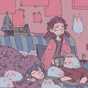 Rating: Safe Score: 2 Tags: :| 2girls animal bird blanket book cat christmas_tree cirno cup holding indoors lying multiple_girls new_year pillow poster purple_hair sitting sofa star tree twintails unyl-chan User: (automatic)Anonymous