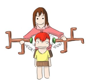 Rating: Safe Score: 0 Tags: 0_0 2girls antlers azumanga_daiou barefoot brown_hair chibi crossover deer green_eyes horns kasuga_ayumu olen-tan red_hair school_uniform shirt simple_background skirt t-shirt User: (automatic)nanodesu