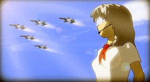 Rating: Safe Score: 0 Tags: 2032 3d airplane asgu grey_hair headset necktie pioneer_tie pioneer_uniform sky visor User: (automatic)timewaitsfornoone
