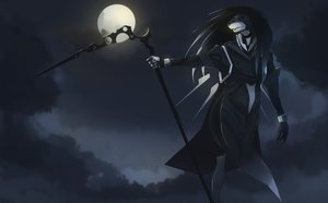 Rating: Safe Score: 0 Tags: /an/ full_moon moon night no_humans outdoors scythe User: (automatic)nanodesu