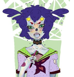 Rating: Safe Score: 0 Tags: antennae bizarre collar green_eyes insect open_mouth purple_hair teeth toothbrush twintails unyl-chan User: (automatic)Anonymous