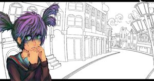 Rating: Safe Score: 0 Tags: green_eyes purple_hair scared street tears twintails unyl-chan User: (automatic)ii