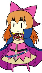 Rating: Safe Score: 0 Tags: bow chibi cirno colored crossover lina_inverse madskillz orange_hair photoshop slayers touhou User: (automatic)Anonymous