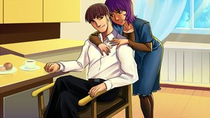 Rating: Safe Score: 0 Tags: adult alternate_hairstyle alternative brown_eyes brown_hair chair eroge game_cg green_eyes highres hug male purple_hair room semyon_(character) short_hair sitting unyl-chan User: (automatic)Anonymous