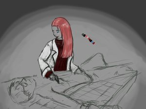 Rating: Questionable Score: 0 Tags: blue_eyes /bro/ doctor knife labcoat lying male pinkamina pink_hair pinkie_pie pony sketch table User: (automatic)Anonymous
