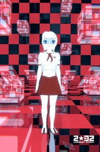 Rating: Safe Score: 0 Tags: 2032 3d asgu checkered necktie pioneer_necktie sci-fi shirt short_hair skirt visor User: (automatic)Anonymous