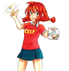 Rating: Safe Score: 0 Tags: blue_eyes disc eroge orikanekoi_(artist) pun red_hair shirt t-shirt twintails ussr-tan User: (automatic)Anonymous