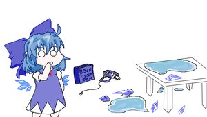 Rating: Questionable Score: 0 Tags: blue_eyes blue_hair cirno tagme User: (automatic)Anonymous
