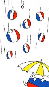 Rating: Safe Score: 0 Tags: ball chanball no_humans pun rain umbrella User: (automatic)Anonymous