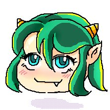 Rating: Safe Score: 0 Tags: 1girl green_eyes green_hair horns idleantics_(artist) long_hair lum /o/ oekaki parody solo touhou urusei_yatsura yukkuri User: (automatic)nanodesu