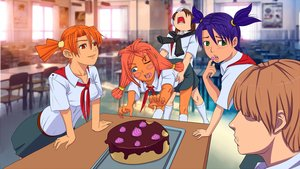 Rating: Safe Score: 0 Tags: blue_eyes blush blush_stickers brown_hair cake do_want dvach-tan eating eroge fighting food food_on_face game_cg green_eyes highres long_hair mod-chan multiple_girls necktie open_mouth orange_hair pioneer pioneer_tie pioneer_uniform purple_hair red_eyes red_hair room semyon_(character) shirt short_hair skirt socks table tray twintails unyl-chan ussr-tan wallpaper User: (automatic)Anonymous