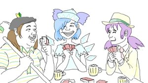 Rating: Questionable Score: 0 Tags: blue blue_eyes blue_hair cirno tagme User: (automatic)Anonymous