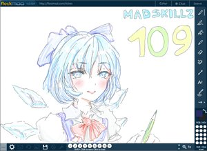 Rating: Safe Score: 0 Tags: 1girl cirno flockmod madskillz madskillz_thread_oppic pencil User: (automatic)Anonymous