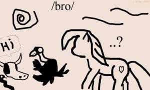 Rating: Safe Score: 0 Tags: animal /bro/ collective_drawing flockdraw madskillz monochrome my_little_pony no_humans oekaki pony sketch User: (automatic)Anonymous