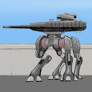 Rating: Safe Score: 0 Tags: no_humans sci-fi tank User: (automatic)nanodesu