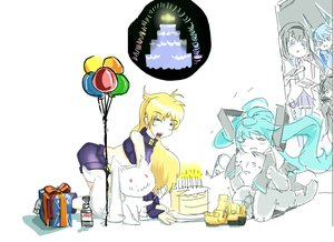 Rating: Safe Score: 0 Tags: >_< akemi_homura aqua_hair arsenixc_(artist) balloon black_hair blue_eyes blue_hair blush bottle cake cat chibi closed_eyes co_(artist) collider-sama crop_top crossover detached_sleeves eating excavator-chan gift happy happy_birthday hatsune_miku horns hug kyubey long_hair mahou_shoujo_madoka_magica multiple_girls school_uniform shorts twintails vocaloid vodka User: (automatic)nanodesu