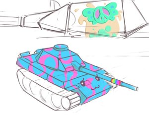 Rating: Safe Score: 0 Tags: cute no_humans sketch tank User: (automatic)nanodesu