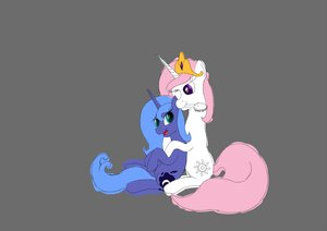 Rating: Safe Score: 0 Tags: alicorn animal /bro/ filly fim horns mare mlp mlp:fim multicolored_hair my_little_pony no_humans pony princess_celestia princess_luna shipping simple_background sitting sketch unicorn User: (automatic)Anonymous