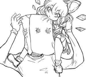 Rating: Safe Score: 0 Tags: anonymous bag_on_head cirno eating monochrome touhou User: (automatic)Anonymous