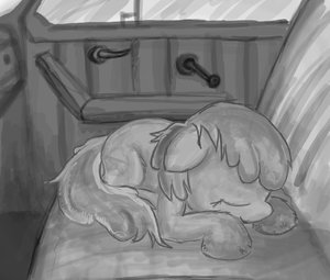 Rating: Safe Score: 0 Tags: animal /bro/ car door fim has_child_posts mare mlp mlp:fim monochrome my_little_pony no_humans pony sleeping window User: (automatic)Anonymous
