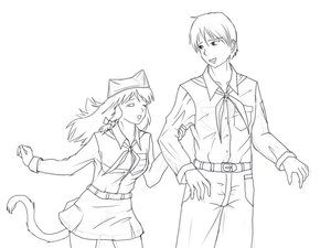 Rating: Safe Score: 0 Tags: animal_ears bow braid cat_ears character_request eroge hat hudozhnik-kun_(artist) long_hair male monochrome pioneer pioneer_necktie pioneer_uniform shirt sketch skirt tagme tail uvao-chan wink User: (automatic)Anonymous