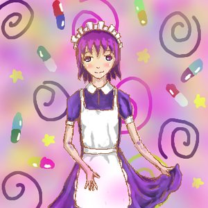Rating: Safe Score: 0 Tags: apron futaba_channel maid maid_headdress maid_outfit nijiura_maids /o/ oekaki pill purple_eyes purple_hair short_hair yakui User: (automatic)nanodesu