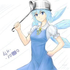 Rating: Safe Score: 1 Tags: blue_eyes blue_hair bow cirno dress hater_(artist) main_page /o/ oekaki pun short_hair too_literal touhou wings User: (automatic)nanodesu